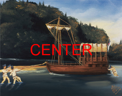 Center Shannon Painting