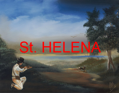 St. Helena Shannon Painting