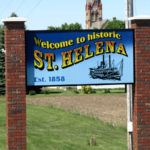 St. Helena sign